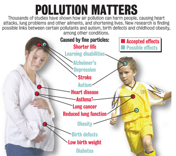 Pollution matters
